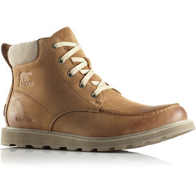 Sorel Madson Moc Toe Shoes Men Camel Brown/Oatmeal